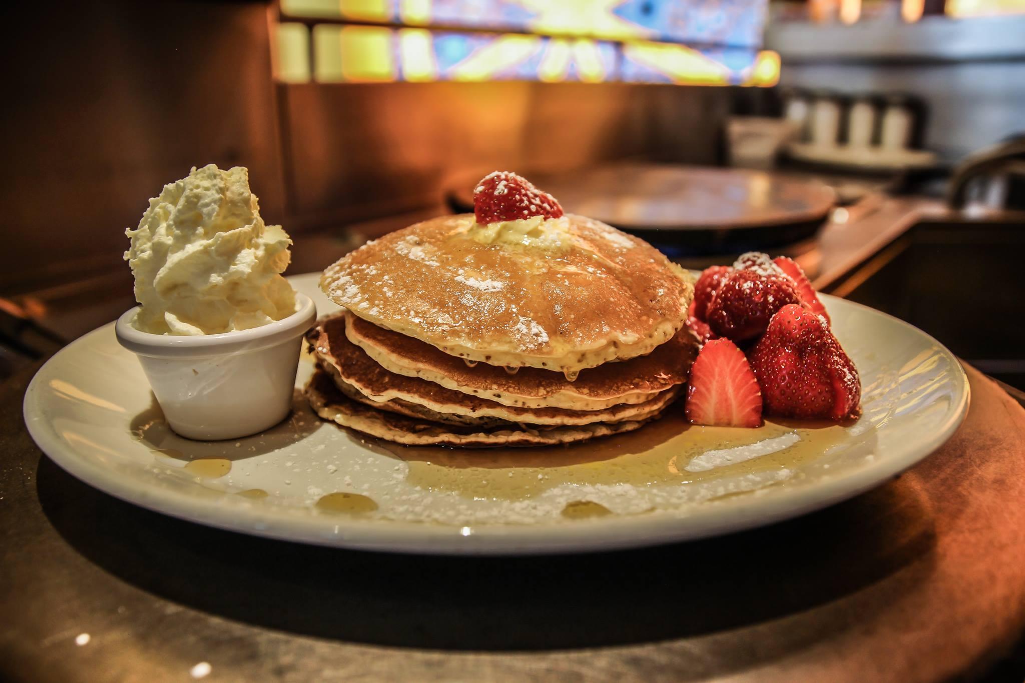Image of Pancakes Lemon Crepe Coffee
