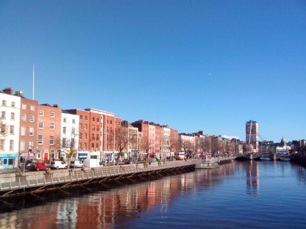 image of River Liffey Dublin Ireland