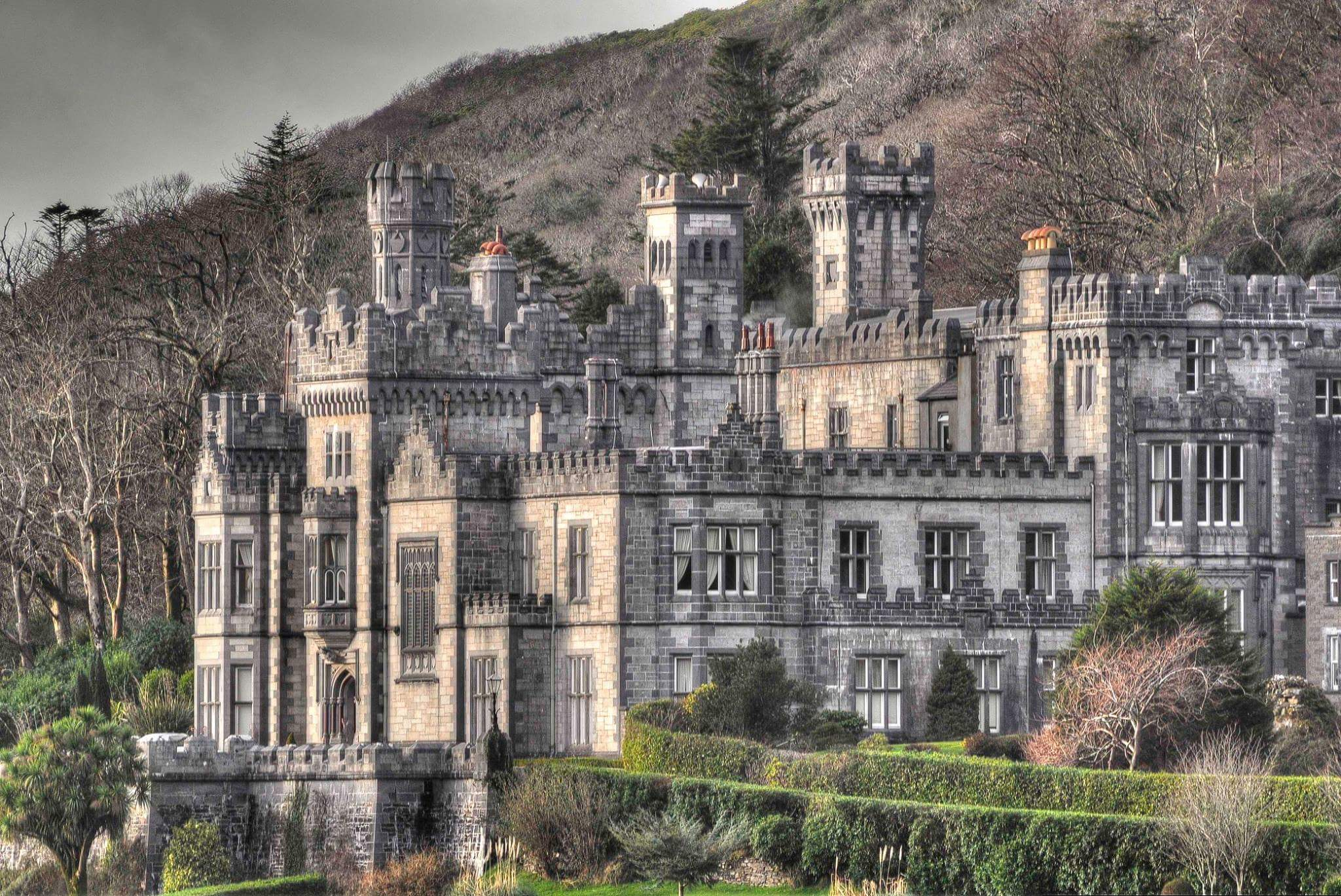 Image of Kylemore Abbey, Connemara, County Galway.