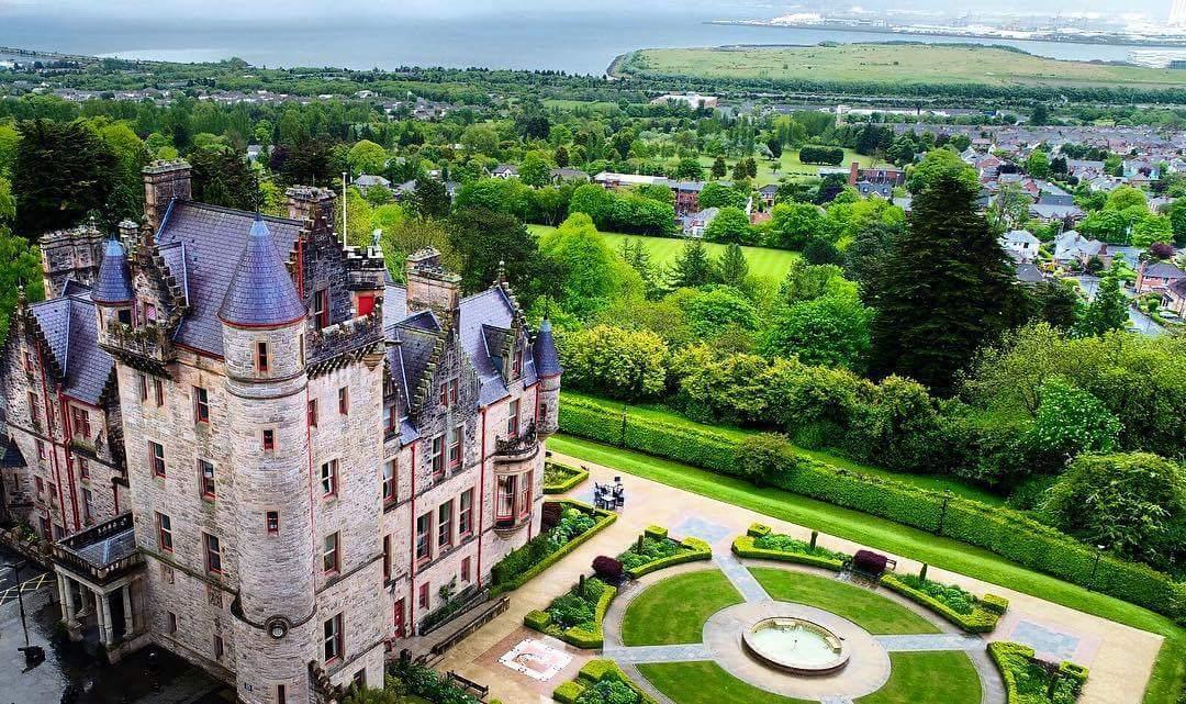 Image of 愛爾蘭旅遊景點英國北愛爾蘭貝爾法斯特城堡 Belfast Castle Northern Ireland