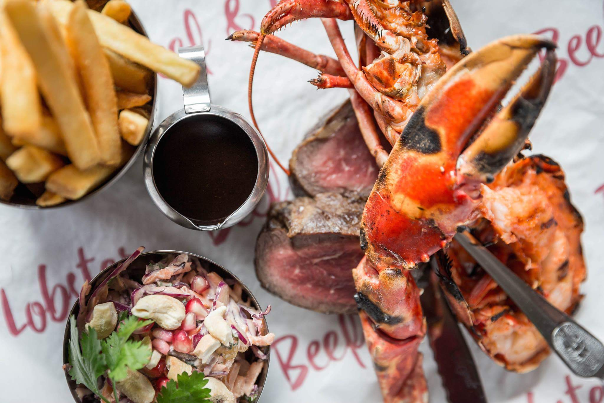 Image of Surf n Turf, Beef and Lobster Dublin