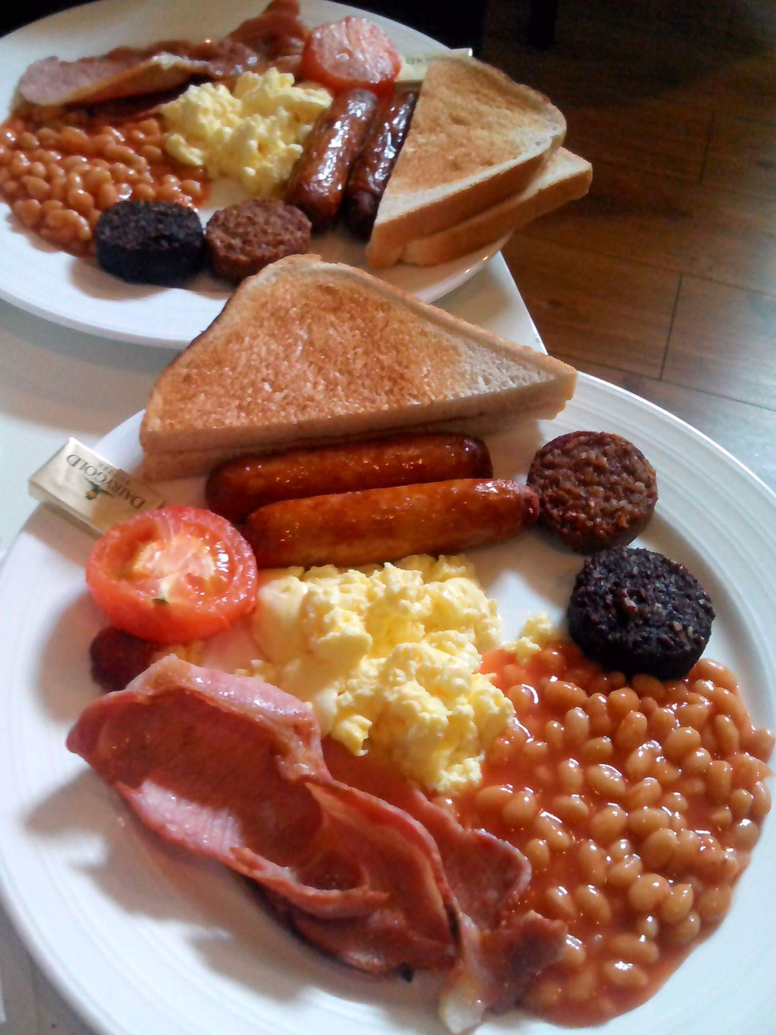 Image of 愛爾蘭美食愛爾蘭早餐 Full Irish Breakfast in Ireland