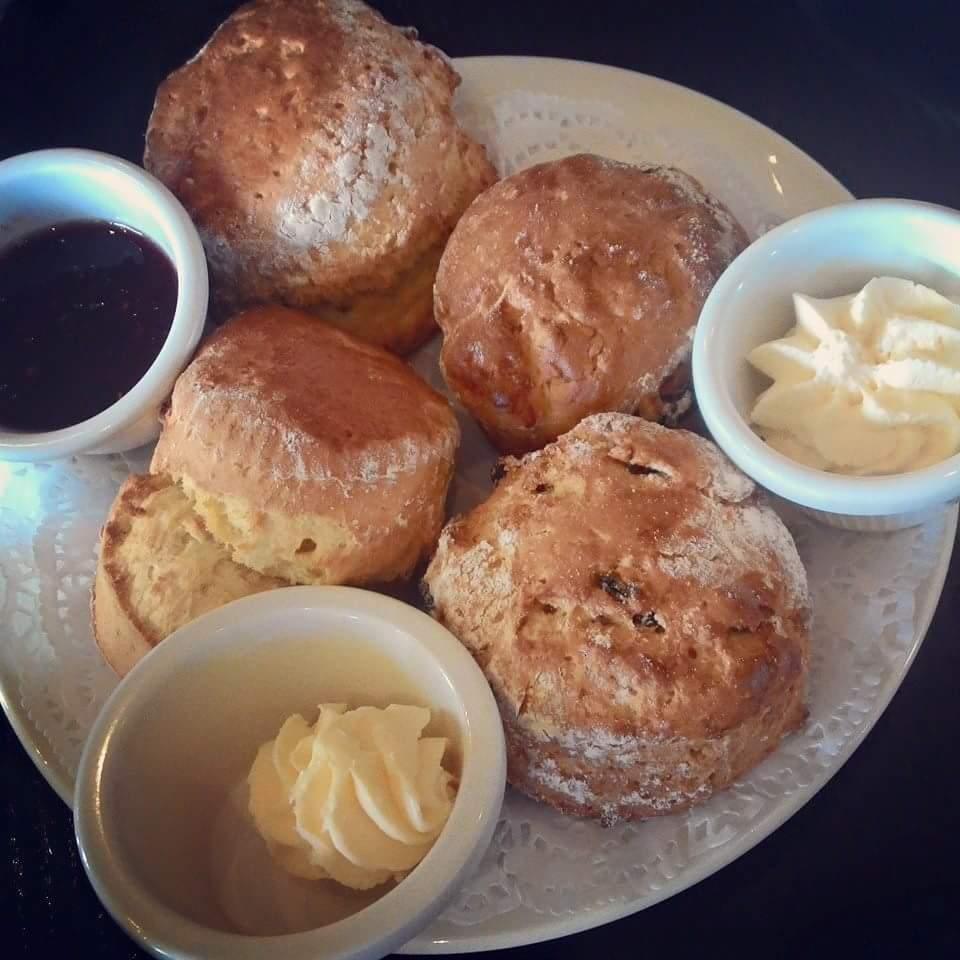 Irish dessert pastry scones