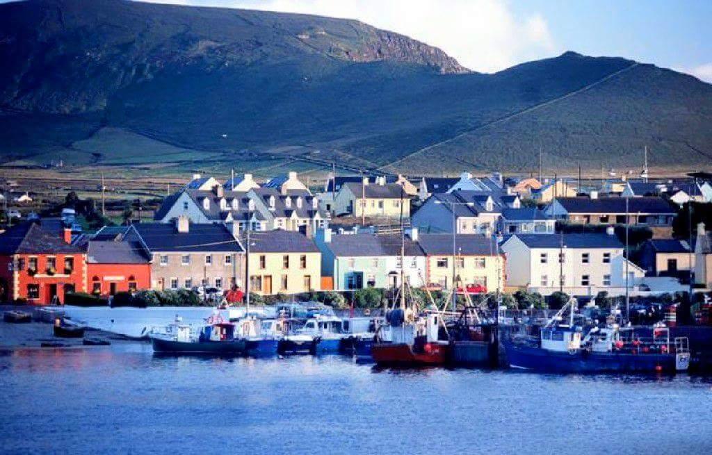 愛爾蘭旅遊景點 Portmagee是Ring of Kerry 其中一站Portmagee County Kerry Ireland