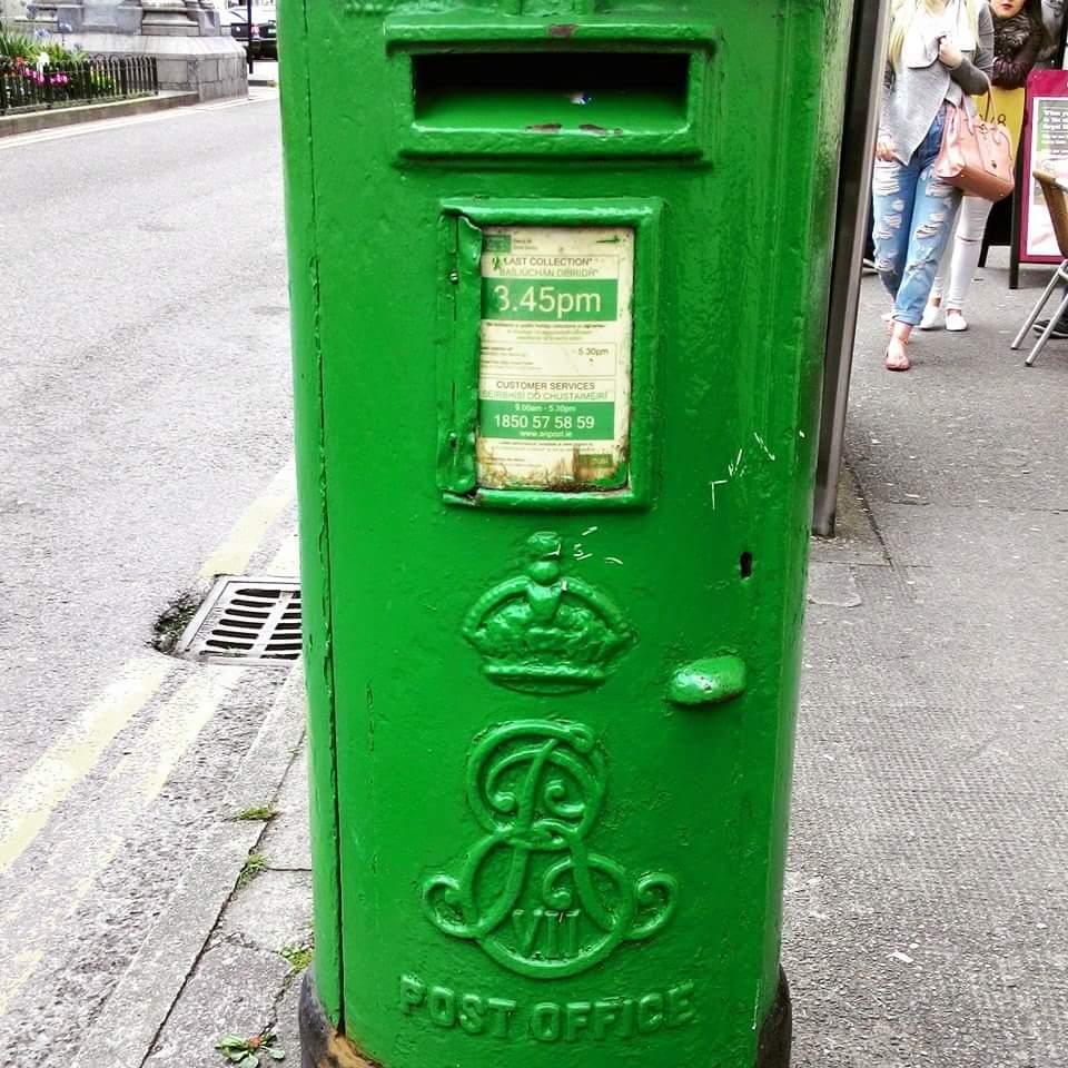愛爾蘭文化小郵筒大歷史 Irish Culture Post box in Ireland