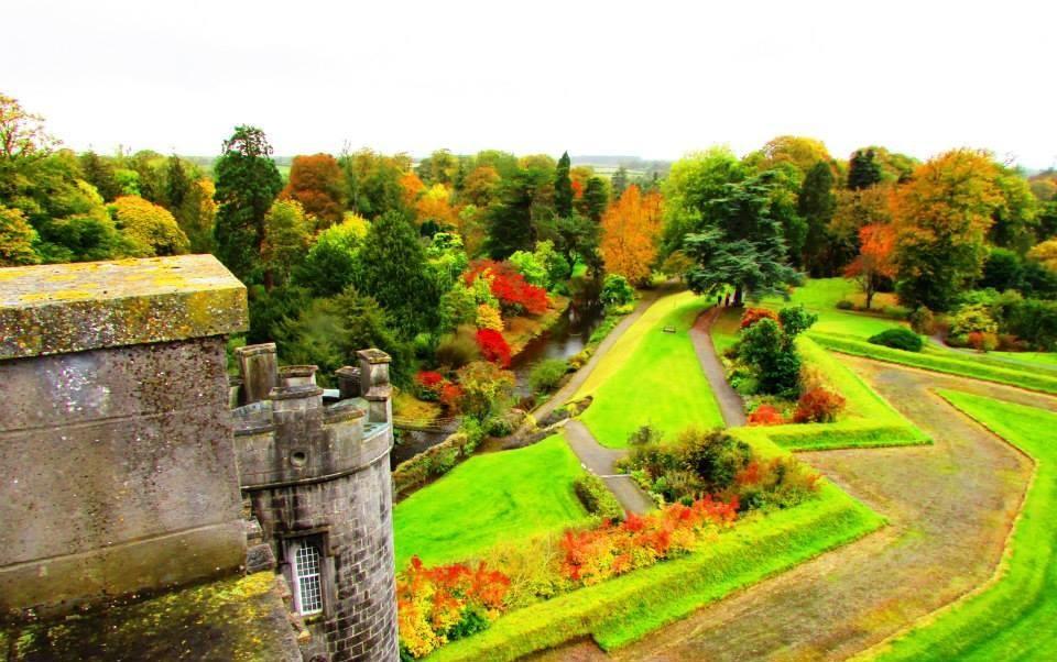 愛爾蘭旅遊景點奧法利郡比爾城堡 Birr Castle Gardens County Offaly Ireland