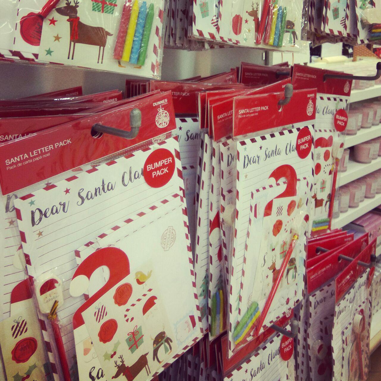 愛爾蘭聖誕節給聖誕老人的信 Christmas in Ireland Letter to Santa