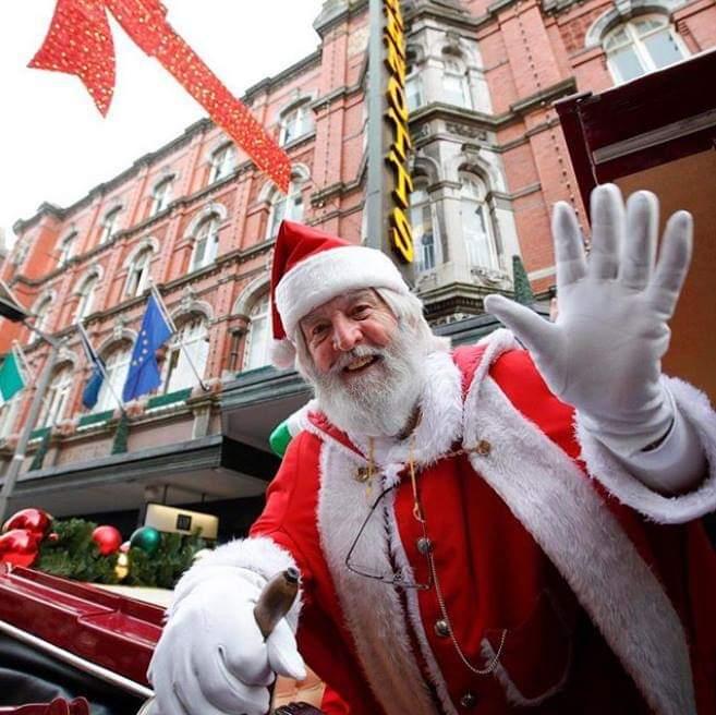 愛爾蘭聖誕節都柏林聖誕老人出現地點 Christmas in Ireland Where to see Santa In Dublin