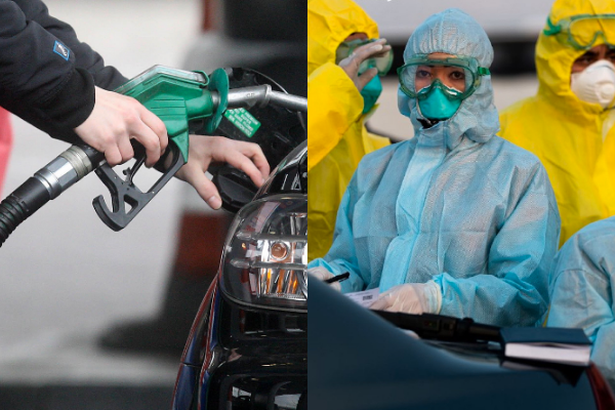 The Coronavirus is causing petrol and diesel prices to drop in Ireland