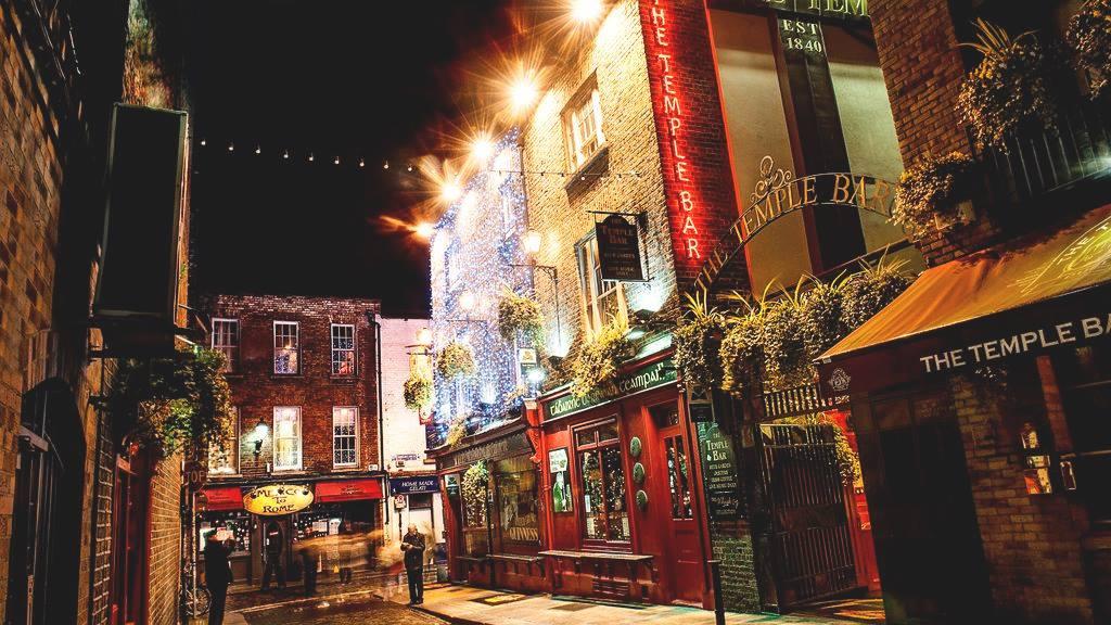 Temple Bar Dublin city