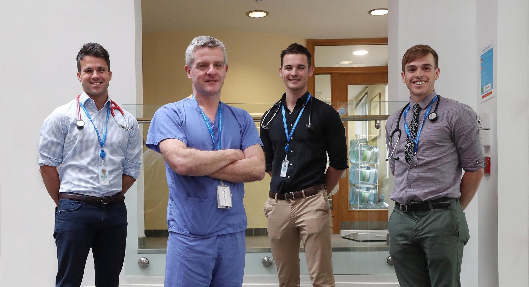 Irish doctors returned from Australia