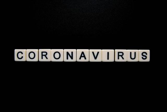 coronavirus letters blocks
