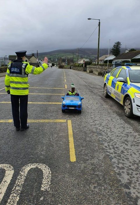 Essential worker Milk Guard Ireland fun image