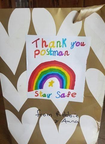 Thank you postman An Post