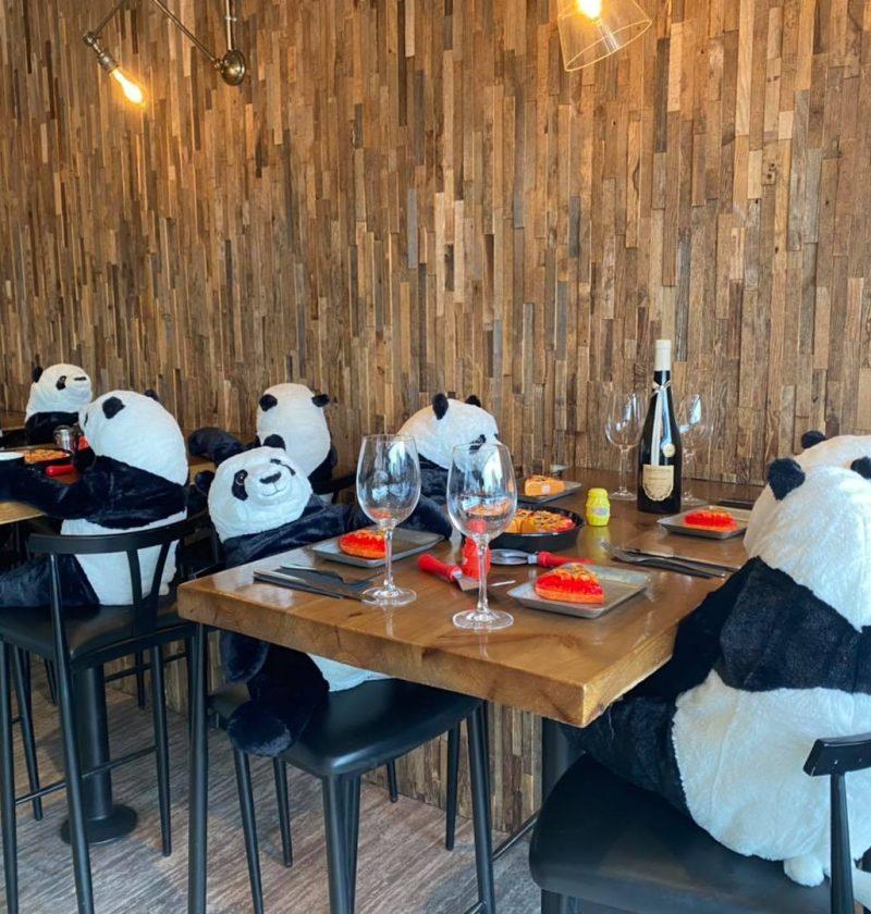 La Cucina Limerick panda customers